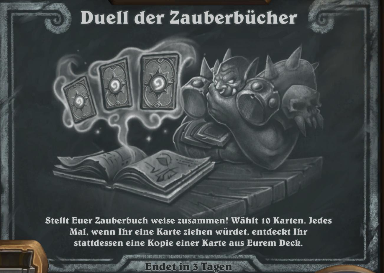 Kartenchaos Hearthstone aktuell: Duell der Zauberbücher – So gewinnt Ihr