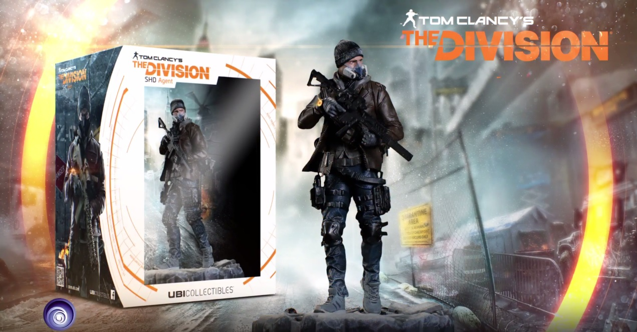 The Division: Ein Agent fürs Wohnzimmer – Ubisoft gibt Sammelfigur heraus