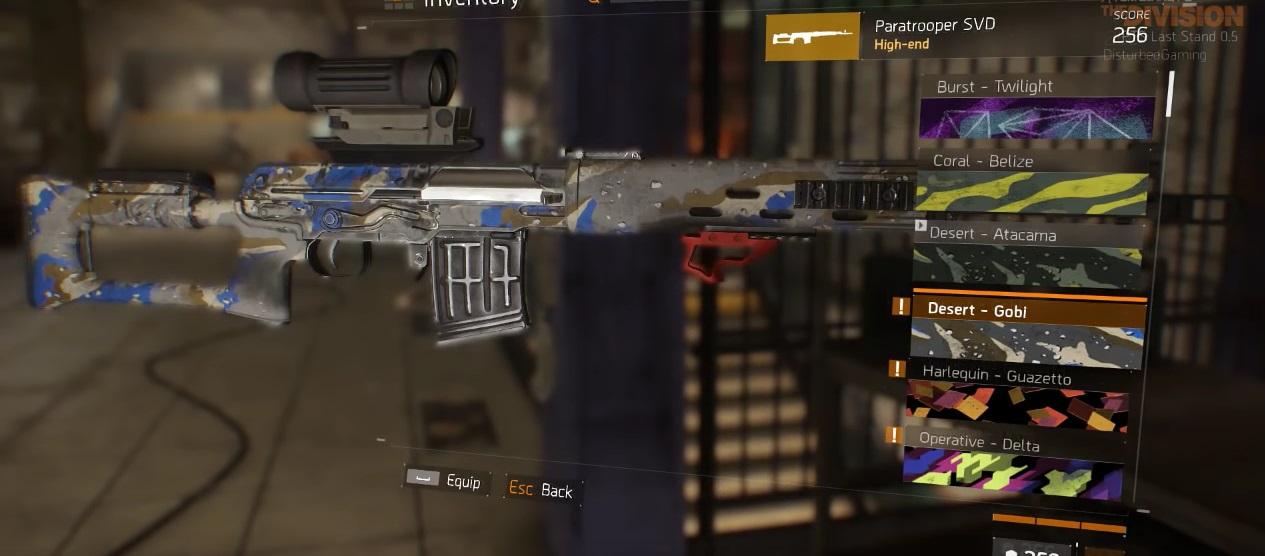 The Division: Neue Waffen-Skins und Chicken-Emote – Das sind die Premium-Items
