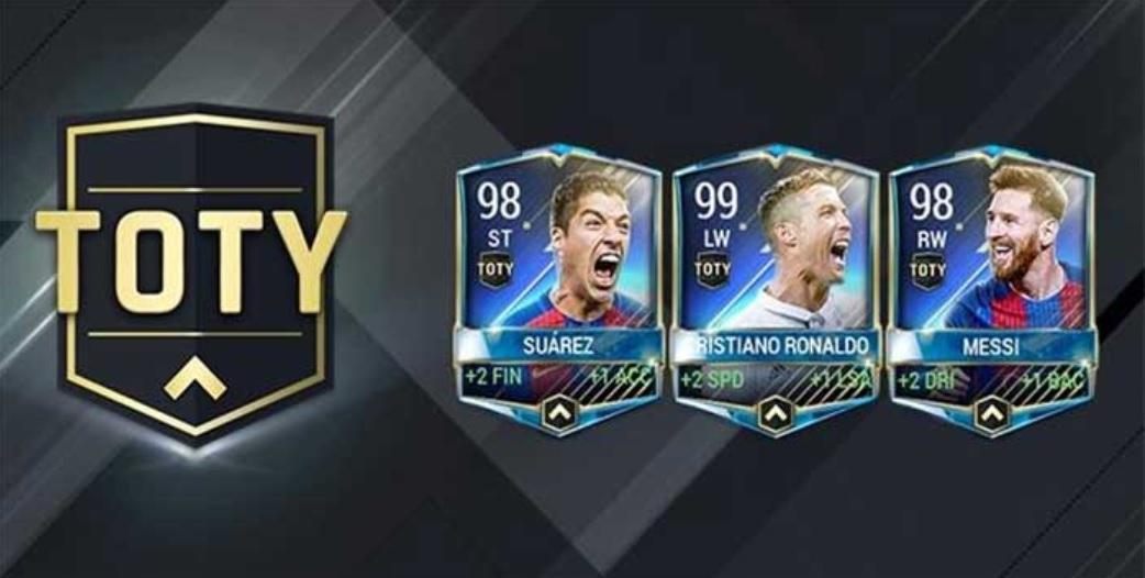 FIFA Mobile: TOTY verfügbar – Ratings der Stürmer