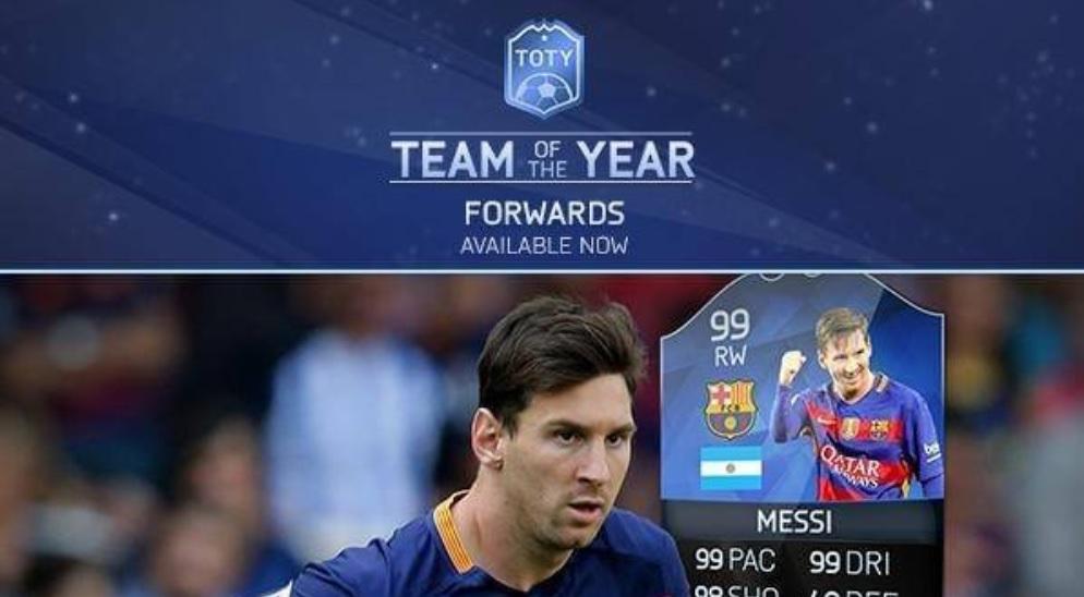 FIFA 17 TOTY: Alle Infos zum Team des Jahres in FUT – Release, Spieler, Karten