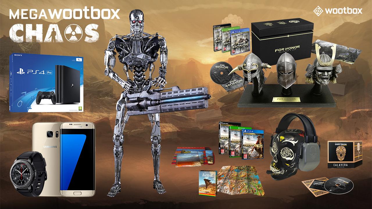 Eine Geschenkelawine in der Megawootbox Chaos von Februar!