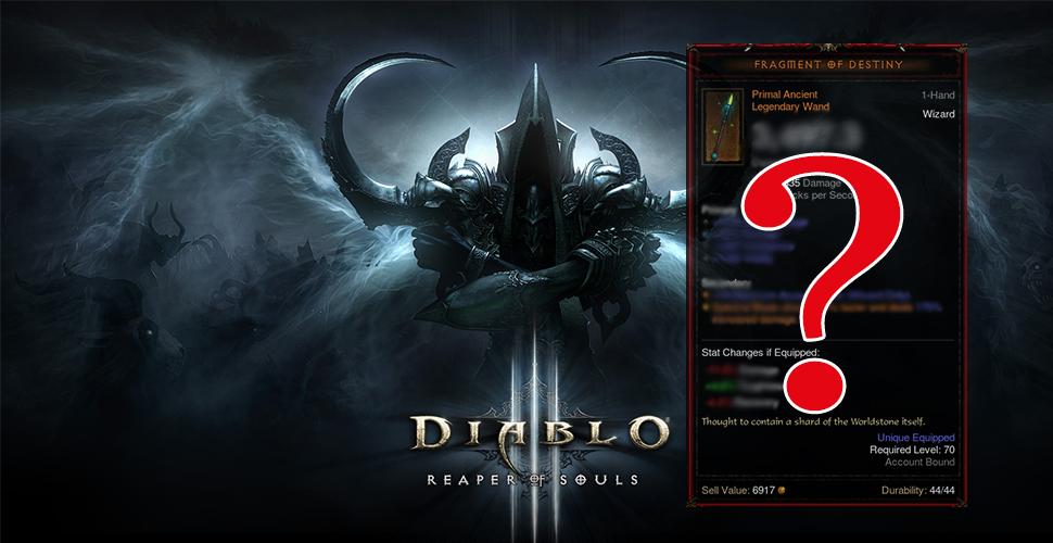 Diablo 3: Archaische Gegenstände – Wie stark sind die Primal Ancients?