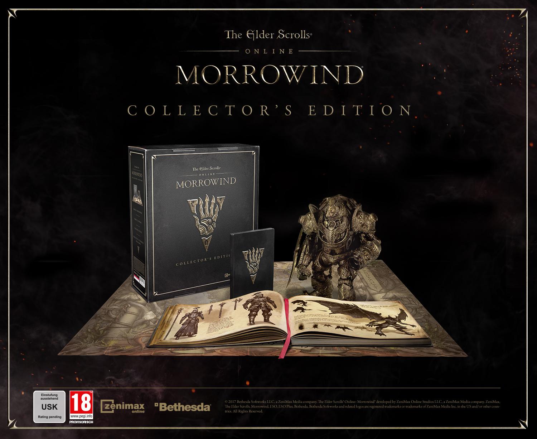 ESO: Morrowind-Editionen – Preise und Inhalte