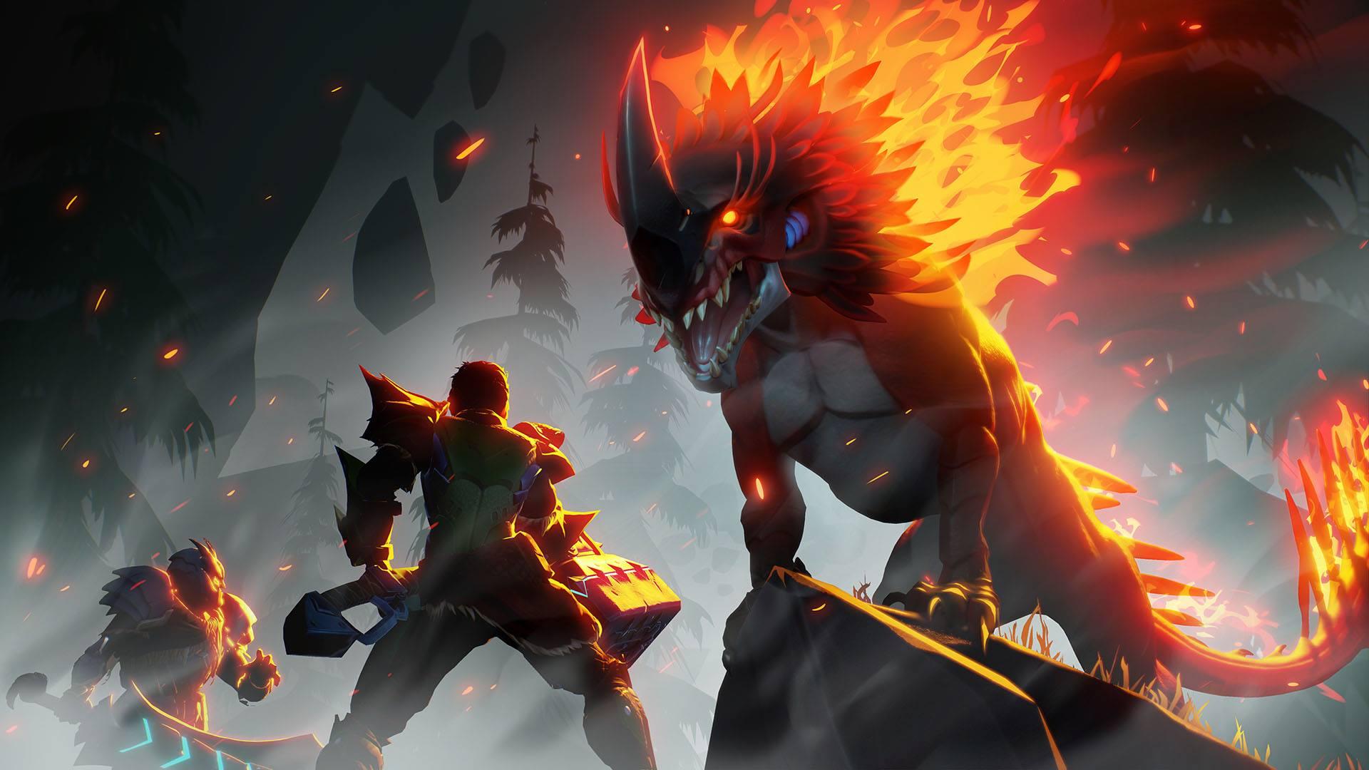 Dauntless stellt Embermane, feurigen Behemoth, vor