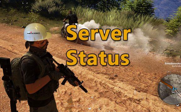 Ghost Recon Server Status Logo