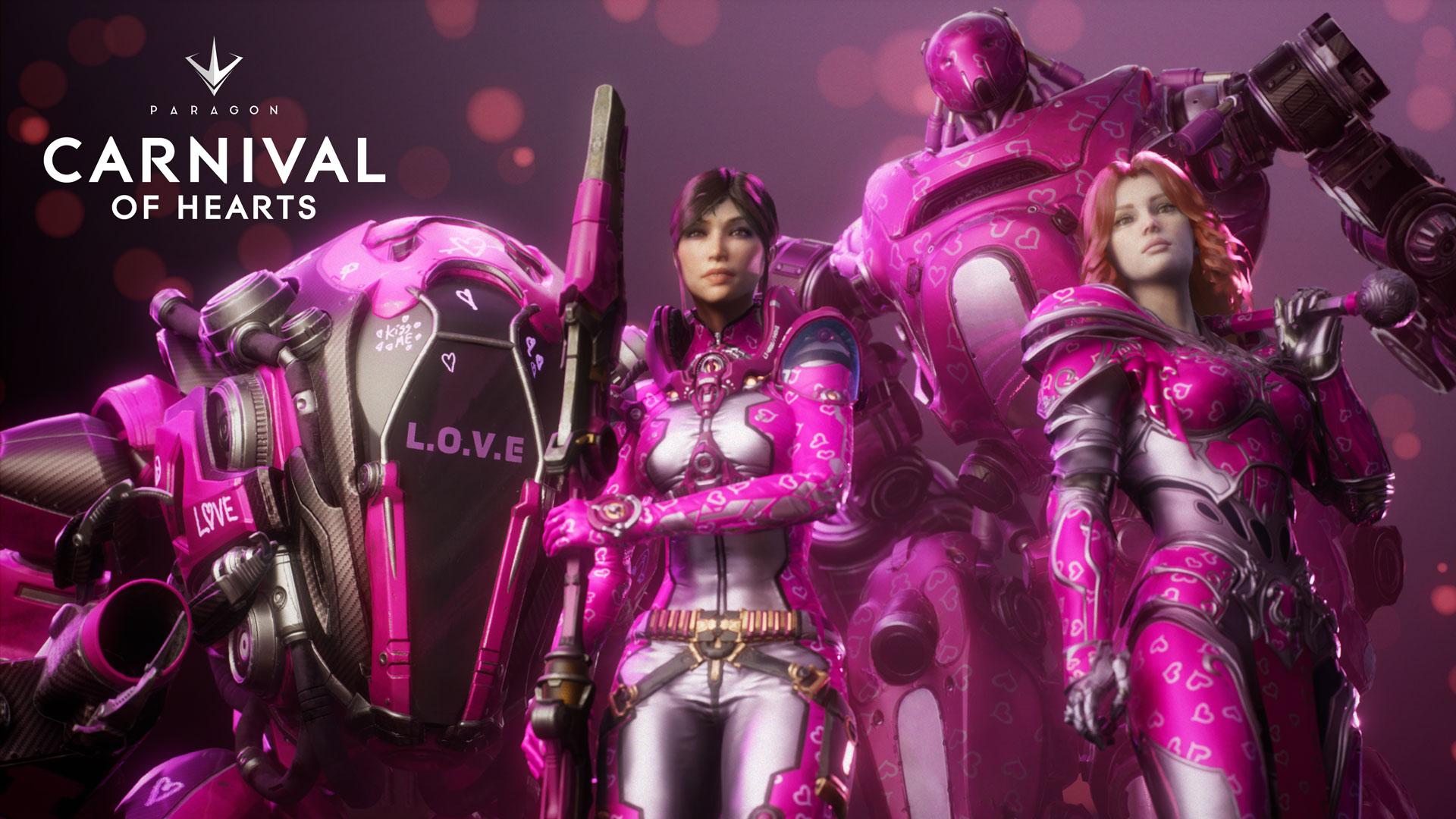 Paragon: Rosa-Overkill zum Valentinstag