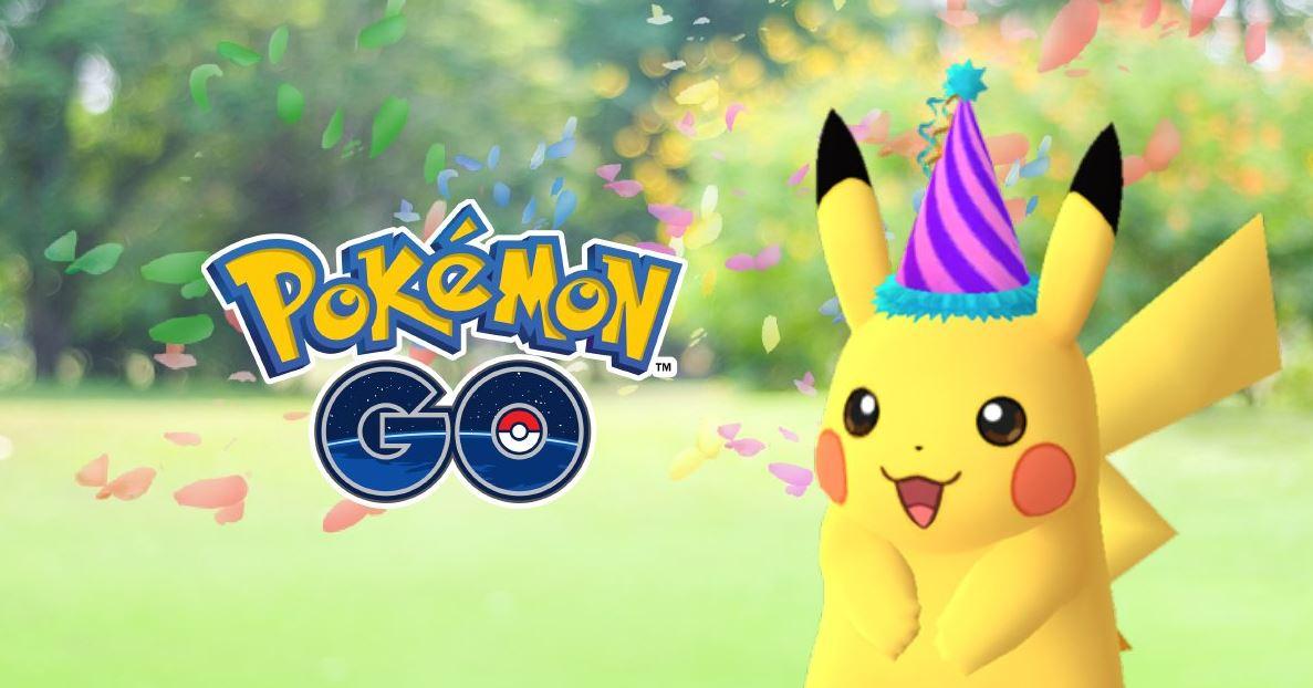 Pokémon GO: Pikachu mit Party-Hut – Pokémon Day-Event startet heute