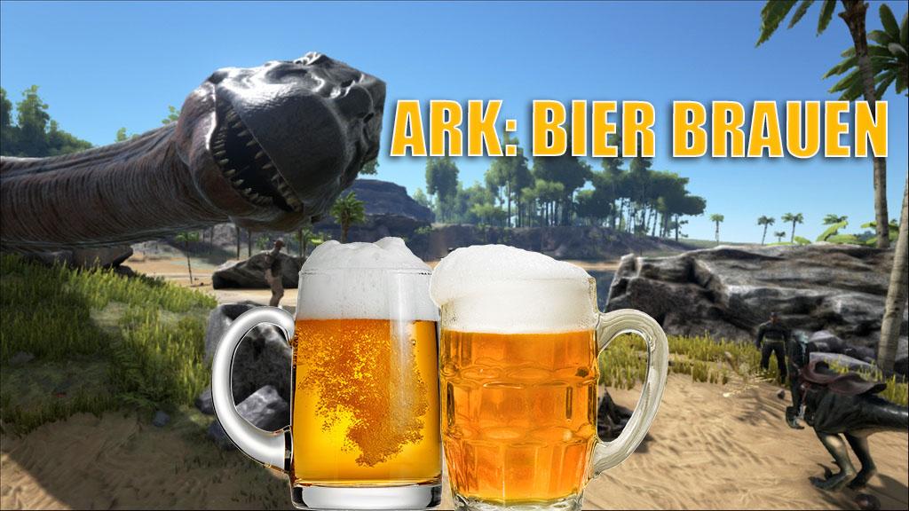 ARK: Bier herstellen mit den Dinos – Nutzt nicht viel, ist aber lustig
