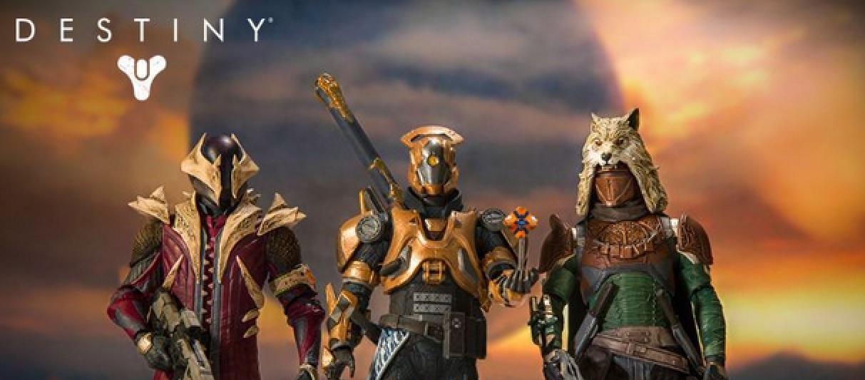 Destiny: Schaut Euch diese neuen Hüter-Actionfiguren an