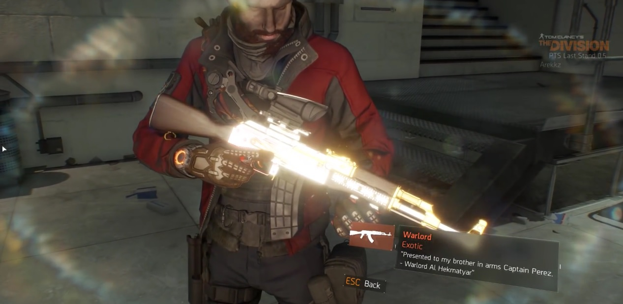 The Division 1.6: Warlord wird zur Tank-Waffe