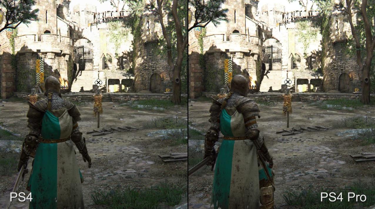 For Honor profitiert deutlich von der PS4 Pro – Mehr Schärfe, stabile FPS