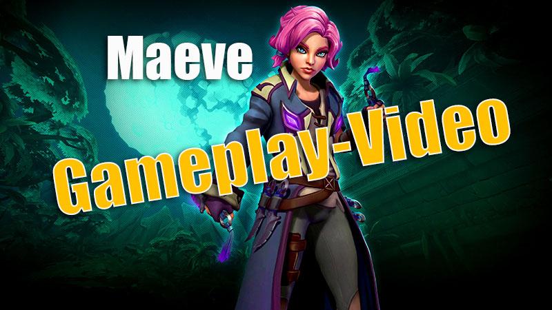 Paladins: Maeve Gameplay-Video in Deutsch – Die neue Flankengöttin