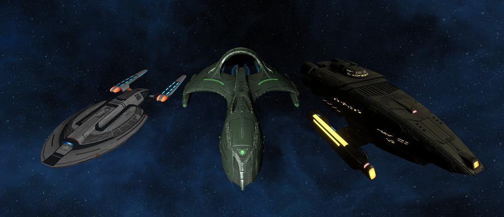 Star Trek Online: Neun neue T-6-Schiffsvarianten angekündigt
