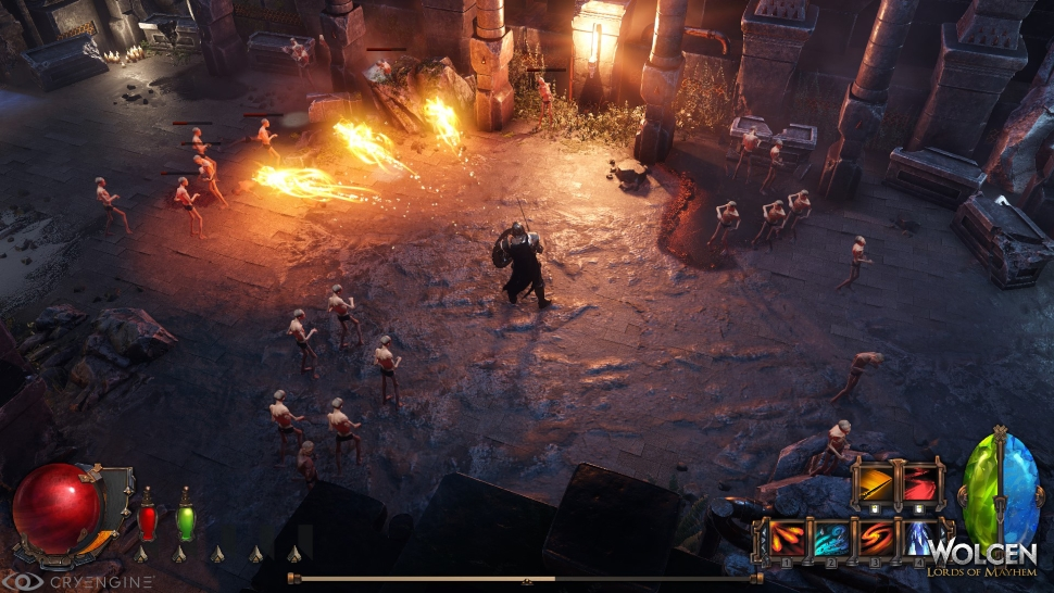 Wolcen Kampf Screenshot
