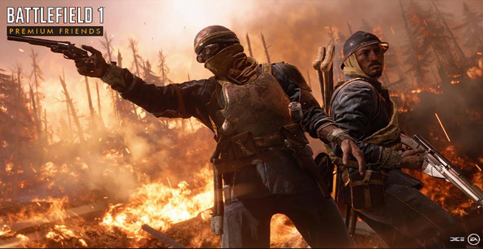 Battlefield 1: Premium-Freunde – Gratis auf DLC-Inhalte zugreifen