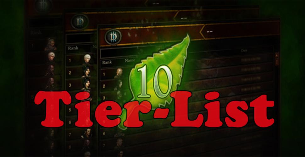 Diablo 3 Season 10 Guide: Die besten Klassen und Builds – Tier-List