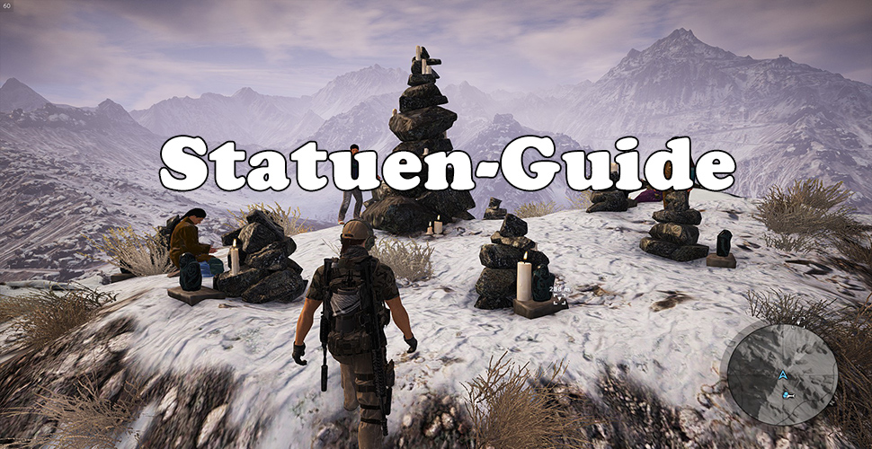 Ghost Recon Wildlands Guide: Fundorte der 8 Totem-Statuen