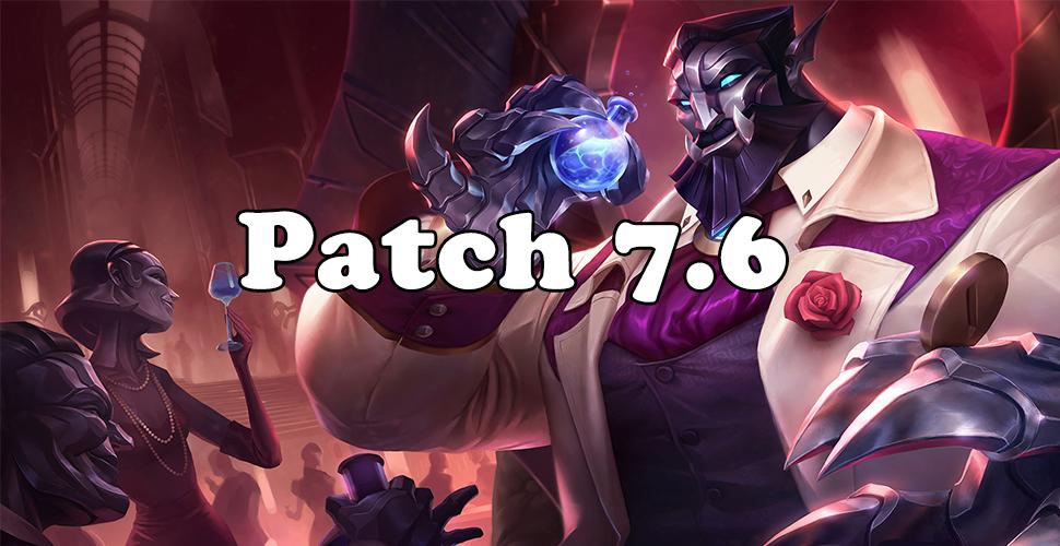 LoL: Patch-Notes 7.6 – Der neue Galio ist da!