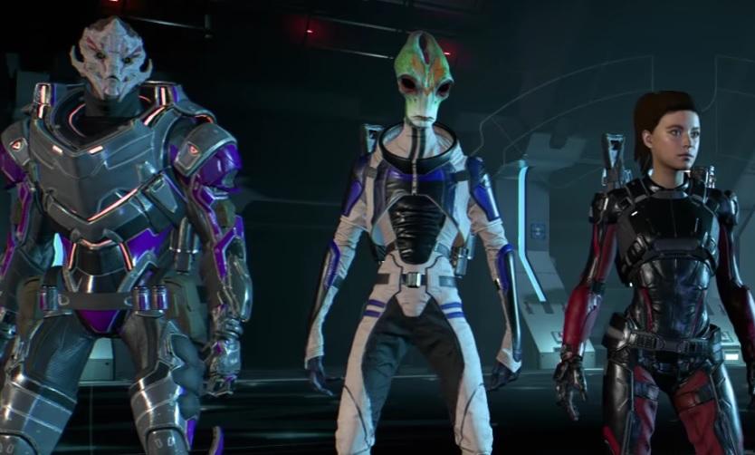 Mass Effect Multiplayer Crew