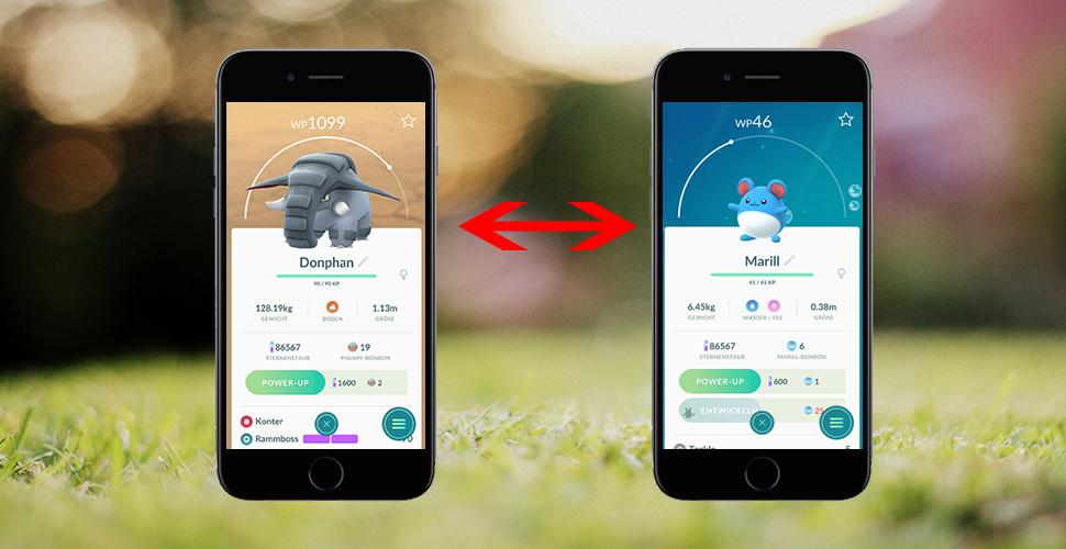 Pokémon GO Tauschen Titel