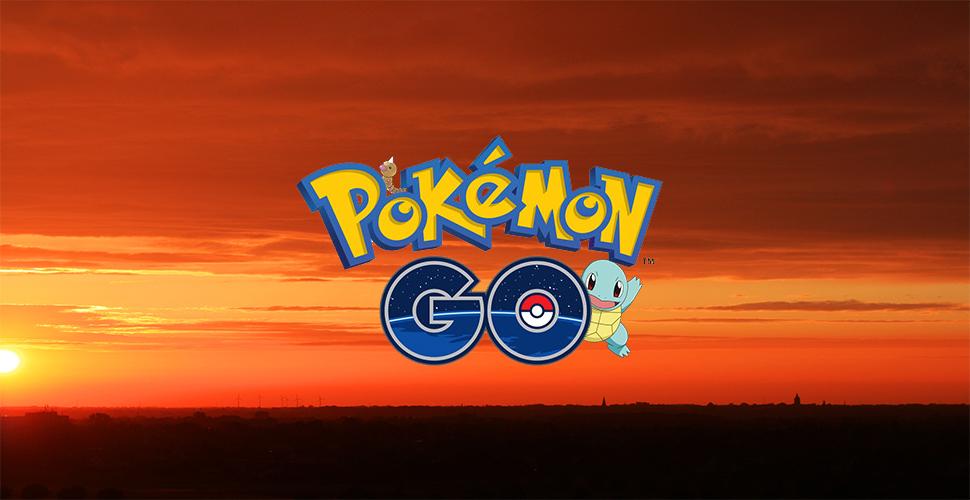 Pokémon GO: Animierte Sonnenuntergänge kommen in Zukunft