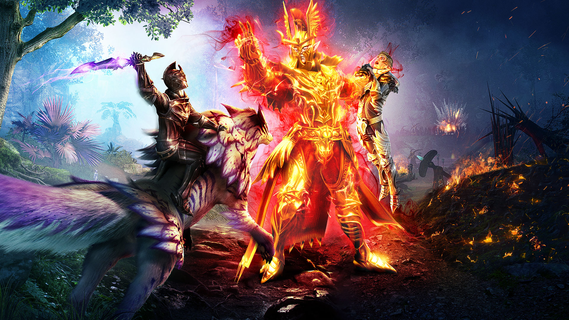 """Riders of Icarus: """"Corruption of Light"""" online, Max-Level steigt auf 55"""