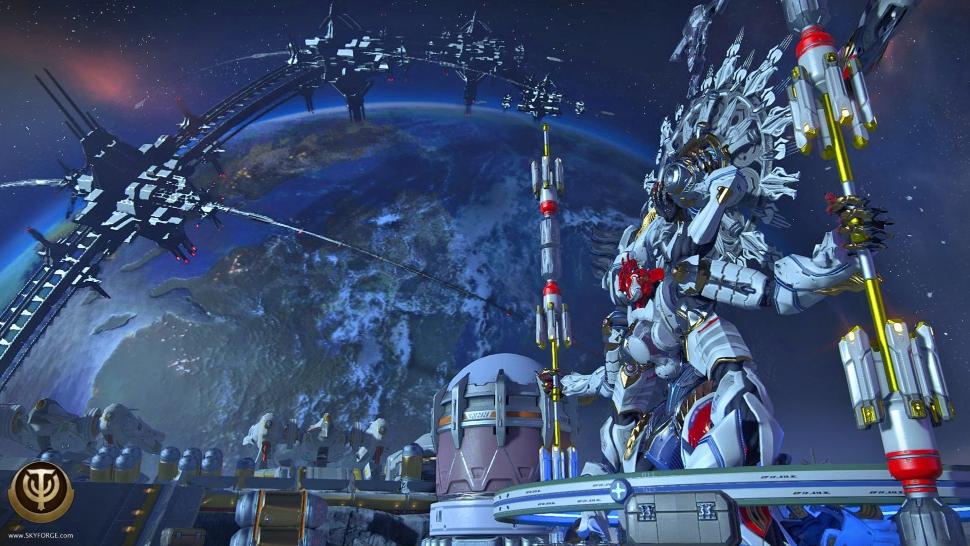 Skyforge: Update New Moon Order schießt euch auf den Mond