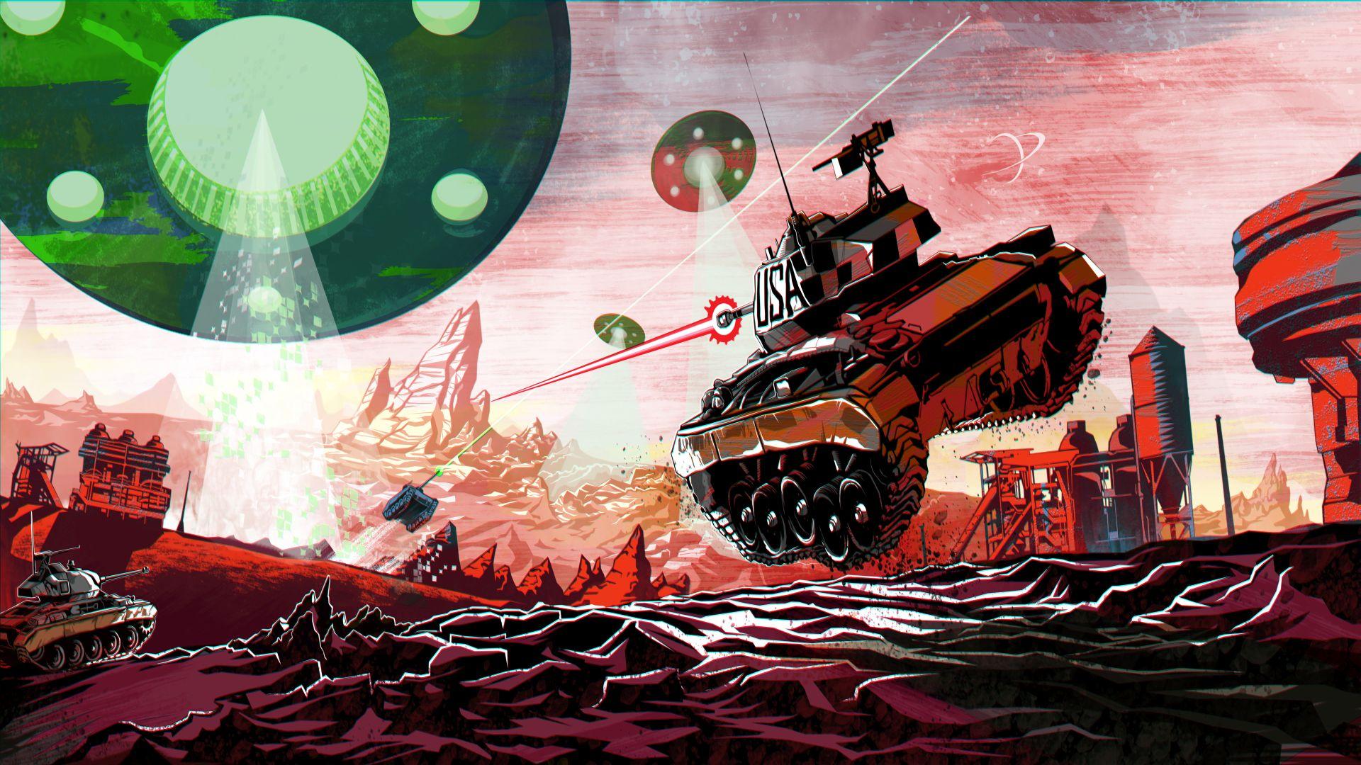 World of Tanks: April-Event – Schwerelose Panzerschlacht um den Mars