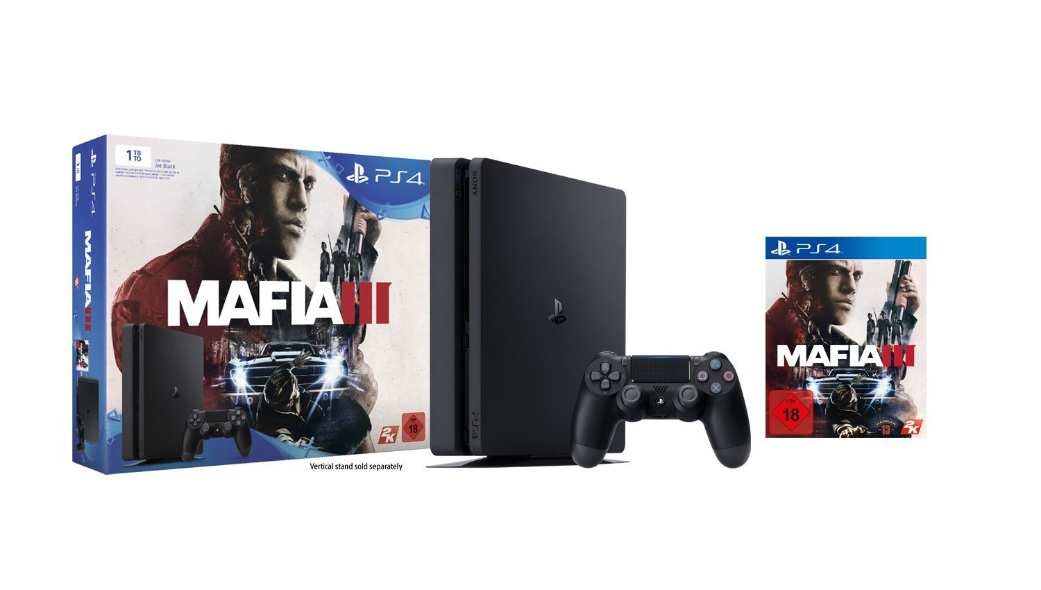 Amazon Blitzangebote am 29. April – PS4 Slim 1 TB + Mafia 3