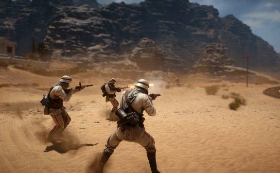 Battlefield 1 Wüste schießen
