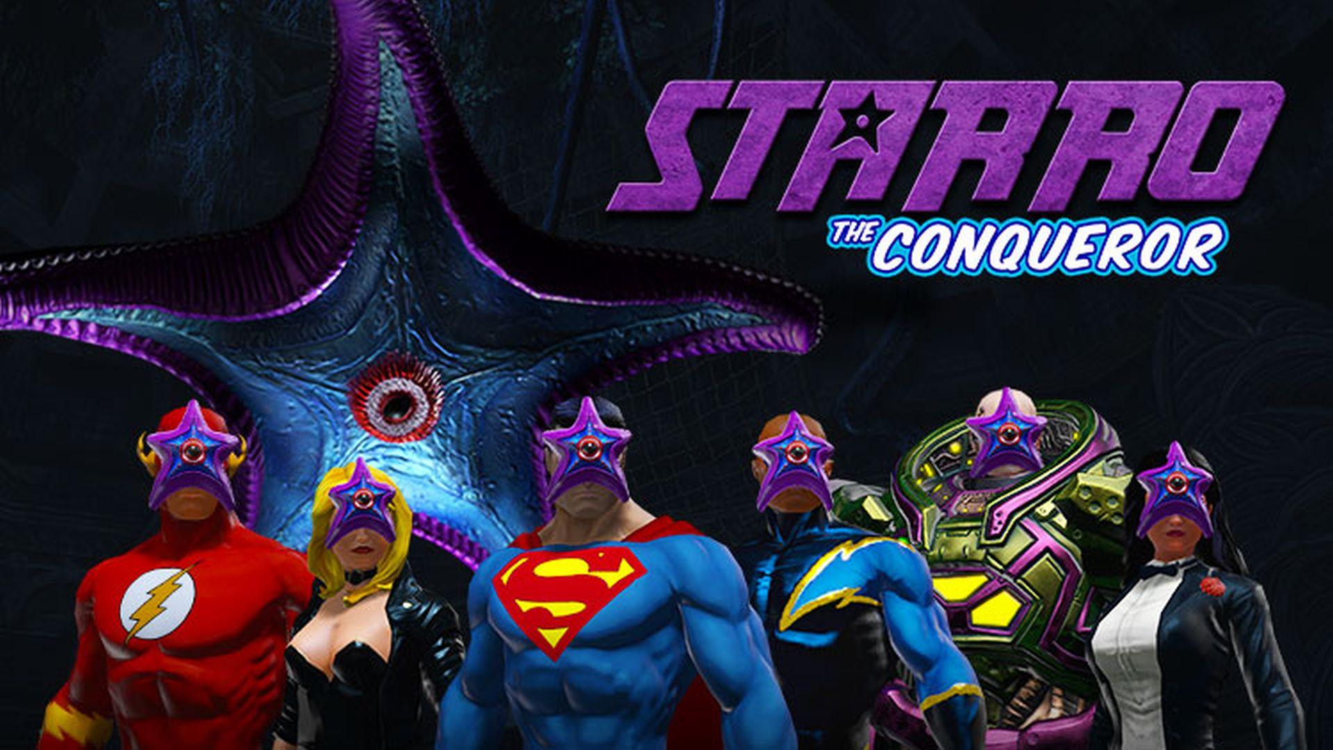 DC Universe Online: Starro-Event – Rosa Weltraum-Seesterne greifen an!