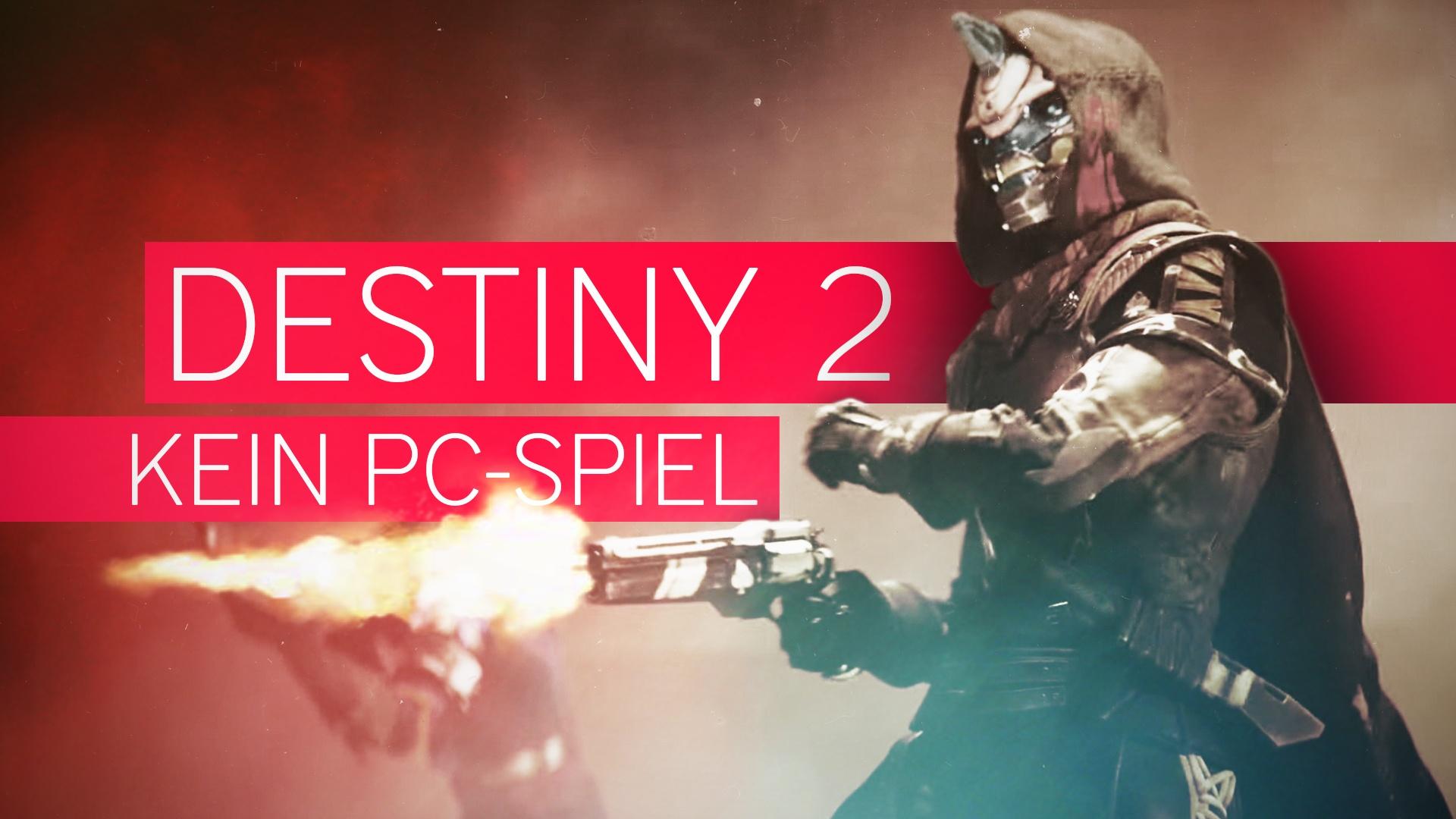 Destiny 2 kommt für den PC – Spieler auf PS4 & Xbox One hassen das