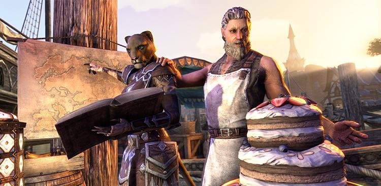 ESO: Jubiläumskuchen zum 3. Geburtstag von The Elder Scrolls Online!