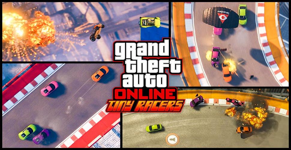 GTA 5 Online: Tiny-Racers Stunt-Modus – Top-Down-Sicht wie in GTA 1