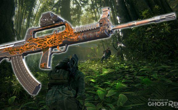 Ghost Recon Wildlands Narco Road Waffe Titel