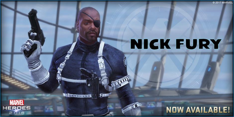 Marvel Heroes: Spielt Nick Fury und holt euch Medusa ins Team