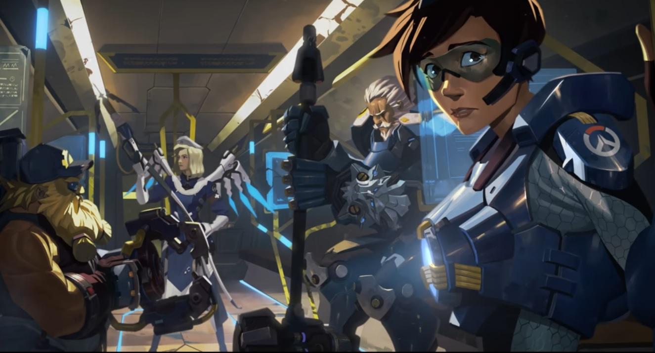 """Das Overwatch-Event """"Aufstand"""" kehrt zurück, teasert Blackwatch-Action!"""