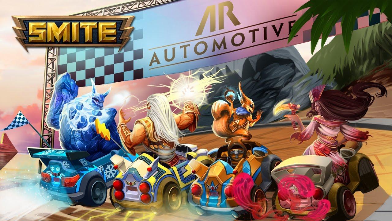 SMITE trifft Mario Kart – Patch 4.6 bringt Racing-Modus