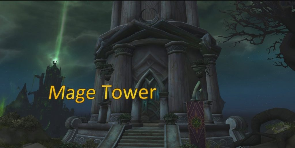 WoW Legion Mage Tower