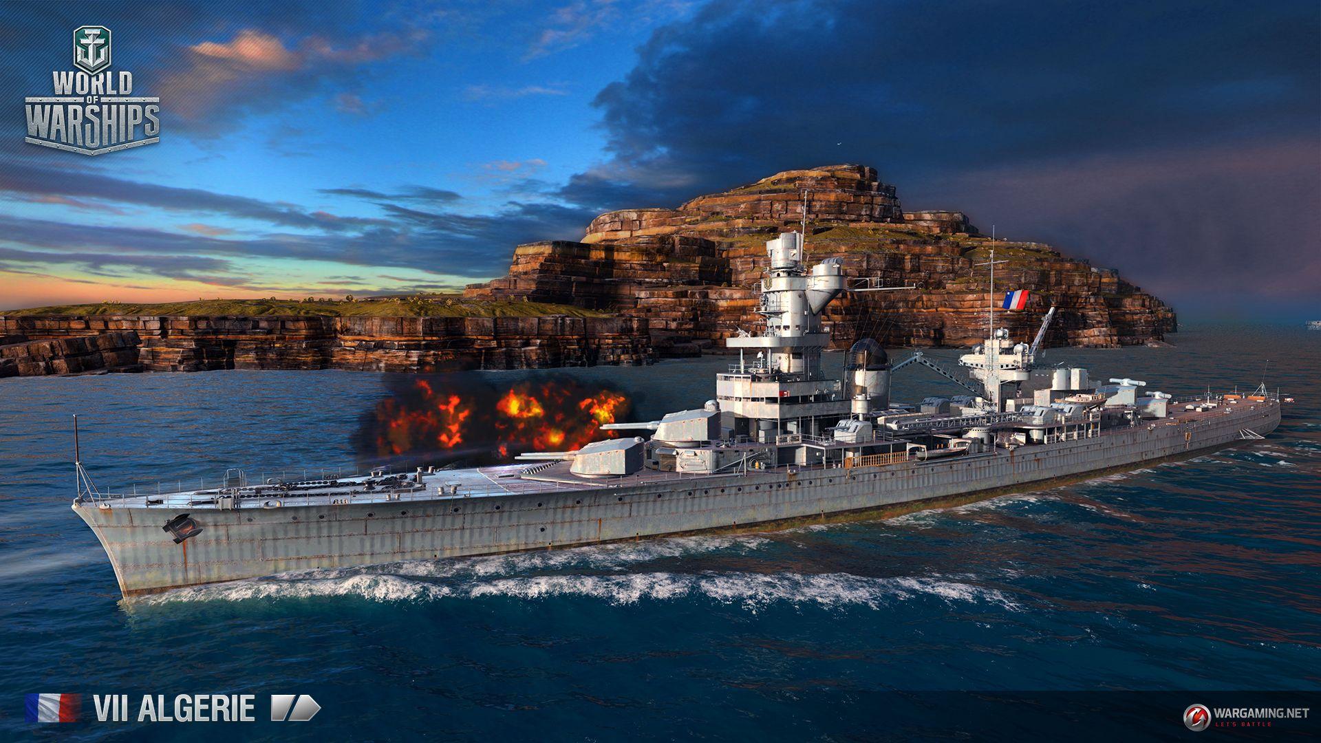 World of Warships: Französische Kreuzer im Vorstellungs-Video