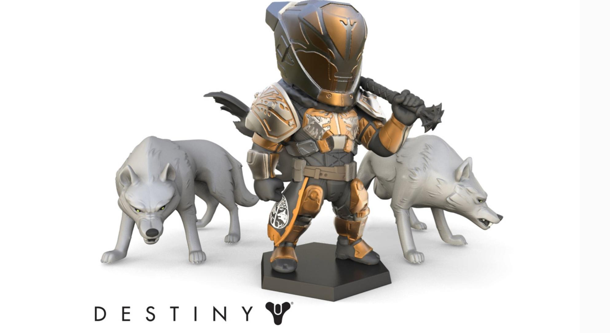 Destiny: Lord Saladin als Action-Figur – Er bringt sein Wolfsrudel mit!
