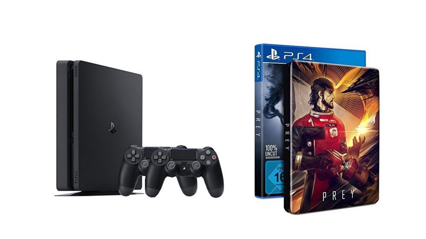 Amazon-Angebote am 5.5: PS4 Slim + 2. Controller + Prey-Steelbook