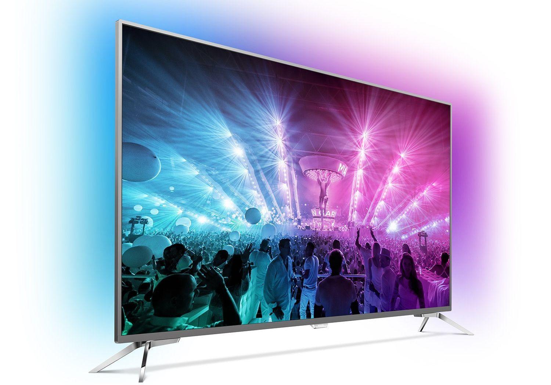 Amazon-Angebote am 8.5.: Philips TV mit 49 Zoll, UHD und Ambilight