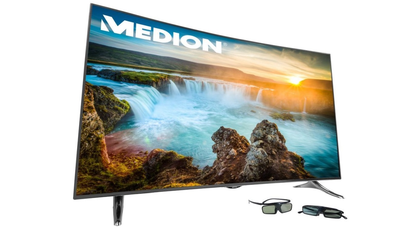 Amazon-Angebote am 11.5.: 55 Zoll Curved UHD 3D-TV