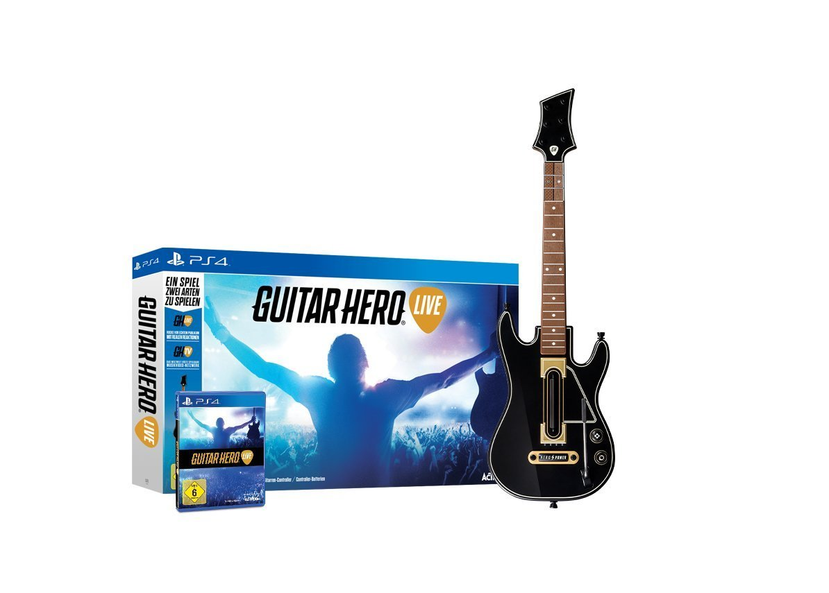 Amazon Blitzangebote am 1. Mai – Guitar Hero Live für PS4