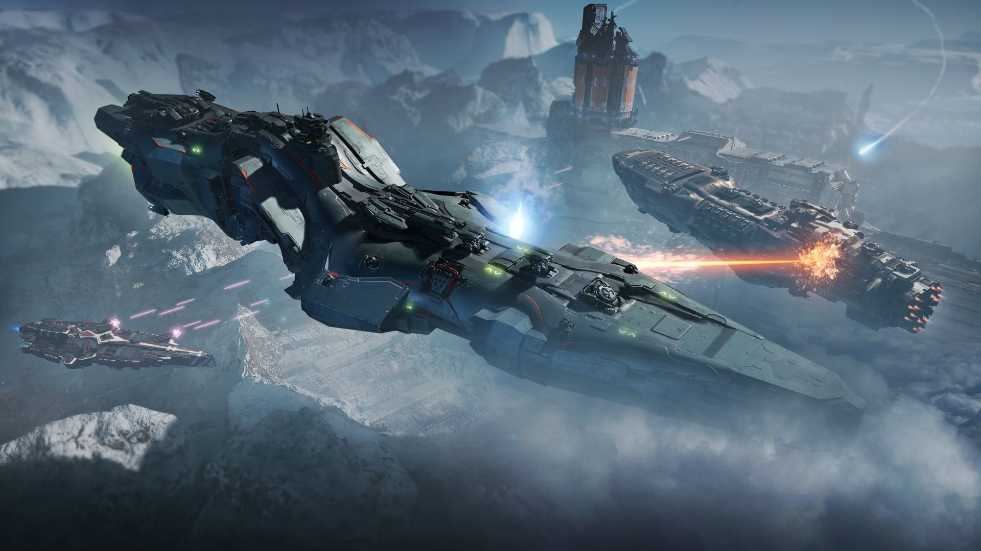 "Dreadnought PS4: Weltraum-""World of Warships"" bekommt Coop-Modus"
