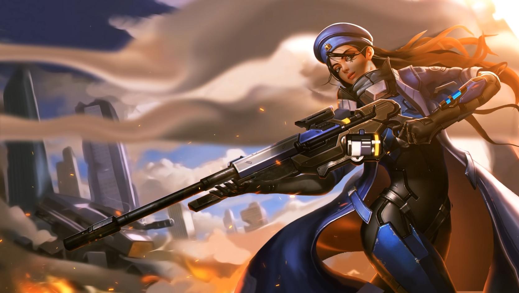 Overwatch: Wow! Beeindruckende animierte Heldenporträts