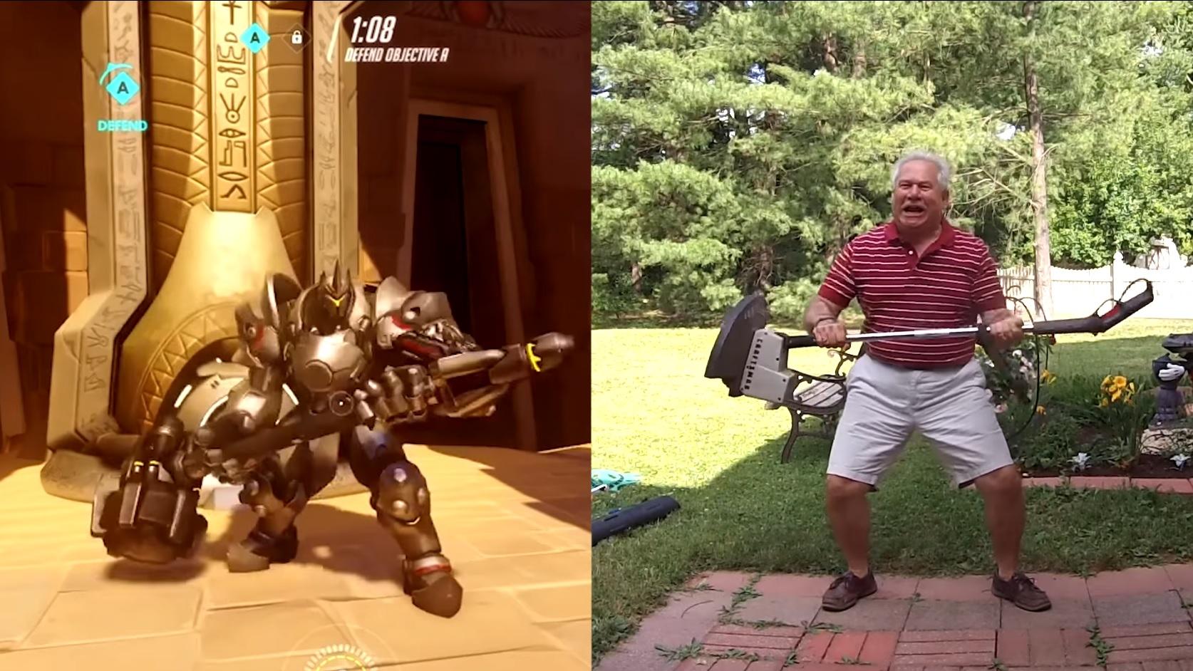 Overwatch: Viraler Hit – Vater stellt Emotes der Helden nach