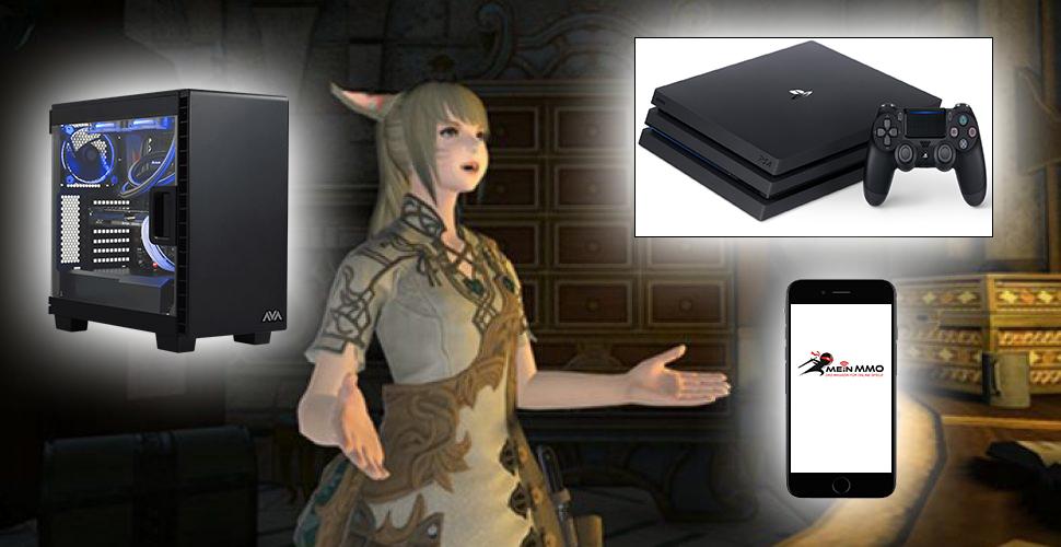 Mein-MMO fragt: Mobile, PC oder Konsole – Wo werdet Ihr MMOs spielen?